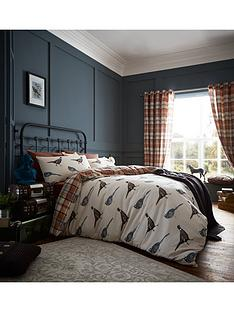 catherine-lansfield-heritage-country-birds-duvet-set-multi