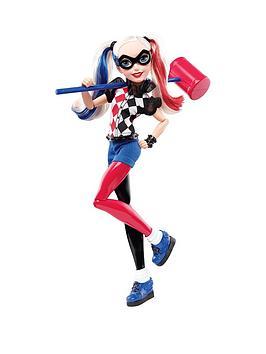 dc-super-hero-girls-harley-quinn-12-inch-action-doll