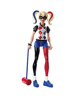 dc-super-hero-girls-harley-quinn-6-inch-action-figure