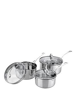 sabichi-aspire-3-piece-stainless-steel-pan-set