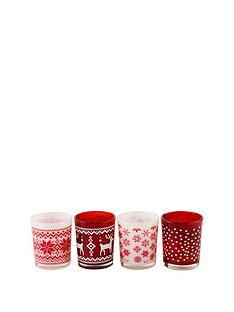 glass-christmas-tea-light-holders-set-of-4