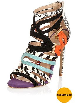 river-island-mixed-print-caged-sandal