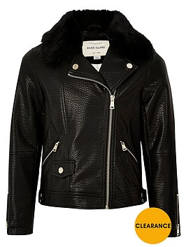 river-island-girls-faux-fur-collar-biker-jacket