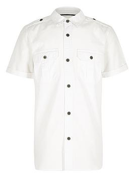 river-island-boys-white-military-shirt