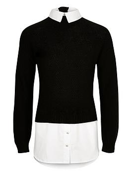 river-island-girls-black-layered-shirt-jumper