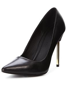 myleene-klass-sienna-leather-metal-heel-pointed-court-shoes-black