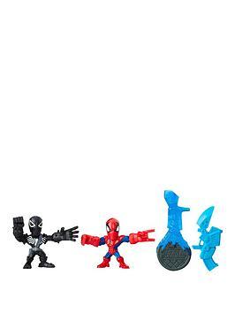 marvel-marvel-super-hero-mashers-micro-agent-venom-and-spider-man-2-pack