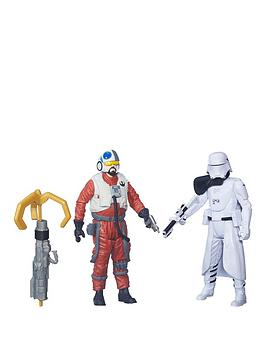 star-wars-the-force-awakens-375-inch-2-pack-snap-wexley-and-first-order-snowtrooper-officer