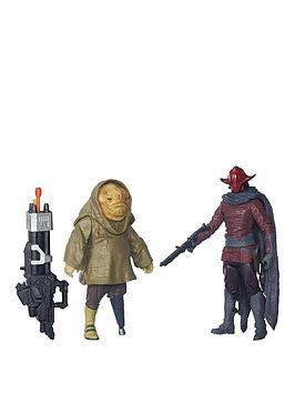 star-wars-the-force-awakens-375-inch-2-pack-sidon-ithano-and-first-mate-quiggold