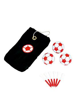 longridge-football-redwhite-towel-gift-set