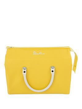 silver-cross-dolls-pram-bag-lemon-yellow