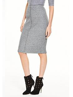 v-by-very-zipped-knitted-midi-skirt