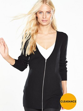 v-by-very-zip-through-ribbed-knit-cardigan
