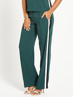 rochelle-humes-side-stripe-trouser-green