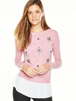 v-by-very-embellished-2-in-1-jumper