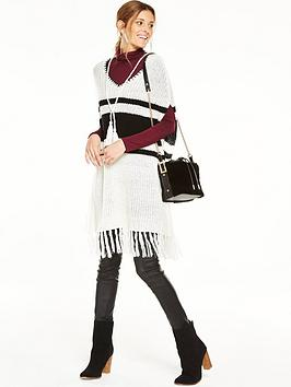 v-by-very-stripe-blanket-stitch-fringed-poncho
