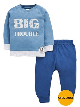 ladybird-baby-boys-big-trouble-sweat-top-and-joggers