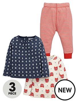 ladybird-baby-girls-2pk-tees-and-legging-set