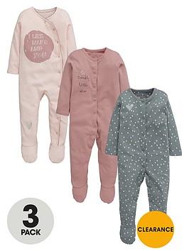 ladybird-baby-girls-fashion-sleepsuitsnbsp3-pack