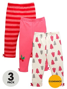 ladybird-baby-girls-festive-leggings-3-pack