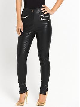 myleene-klass-leather-trouser-black