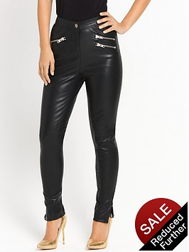 myleene-klass-leather-trouser-black