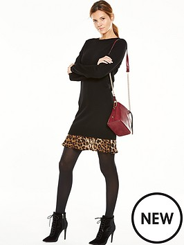 v-by-very-animal-print-2-in-1-knitted-dress