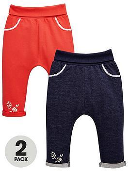 ladybird-baby-girls-2pk-loopback-jogger