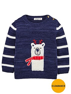 ladybird-baby-boys-festive-polarnbspbear-jumper