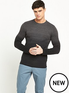 selected-homme-fade-crew-neck-jumper