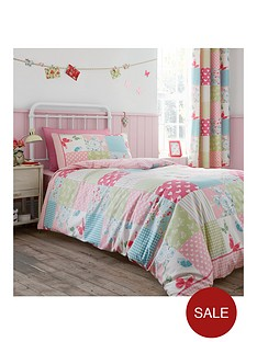 catherine-lansfield-canterbury-patchwork-lined-curtains