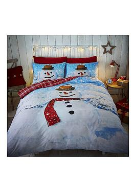 catherine-lansfield-snowman-single-duvet-cover-set