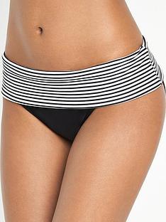 panache-anya-stripe-fold-bikini-briefsnbsp