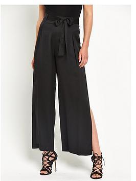 river-island-side-split-wide-leg-trousers