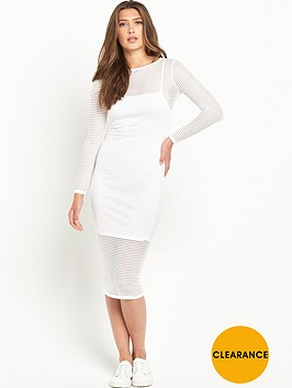 river-island-mesh-bodycon-midi-dress