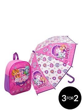 paw-patrol-backpack-amp-umbrella-girls-set