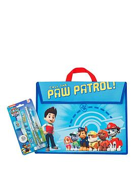 paw-patrol-school-book-bag-amp-5-piece-stationery-set