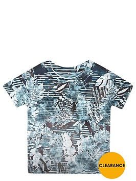 river-island-mini-boys-turquoise-palm-print-t-shirt