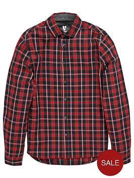 v-by-very-boys-checked-smart-shirt