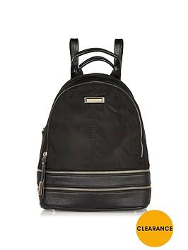 river-island-nylon-backpack