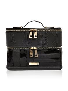 river-island-panelled-vanity-case