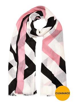 river-island-geo-print-scarf
