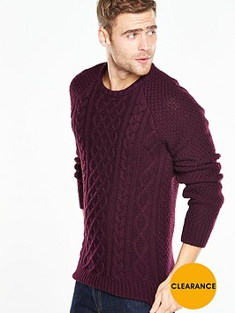 v-by-very-cable-knit-jumper