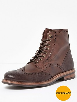 river-island-mens-leather-brogue-boot