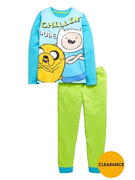 adventure-time-boys-fin-and-jake-pyjamas