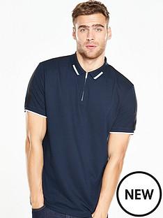 v-by-very-short-sleeve-zip-through-polo-shirt