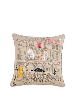 applique-detail-039paris-cafeacute039-cushion