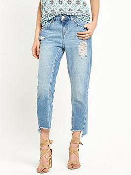 river-island-ripped-twisted-seam-girlfriend-jean