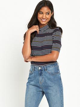 noisy-may-augusta-stripe-bodysuit