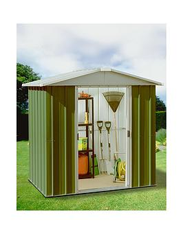 yardmaster-61-x-61-ft-apex-roof-metal-garden-shednbsp